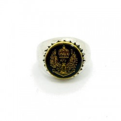Signet silver ring from XXL Hardwear
