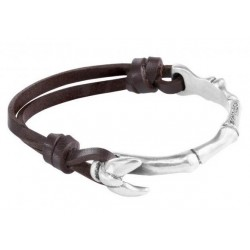 leather bracelet fish tail clasp