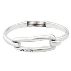Bracelet en argent boucle rectangulaire