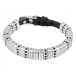 Bracelet silver bricks charms
