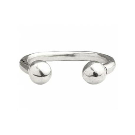 bracelet jonc massif ouvert