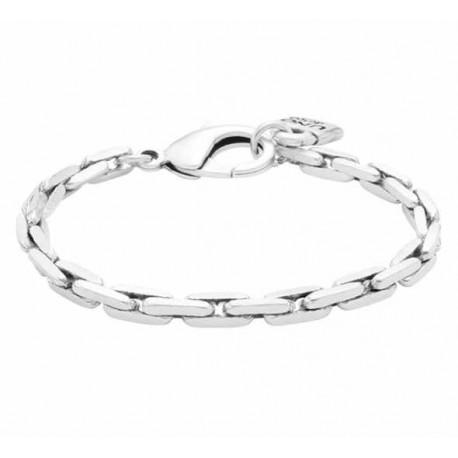 Bracelet cuir et chaine