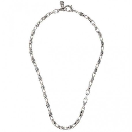 Silver chain necklace original links