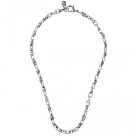 Collar cadena de plata eslabones originales