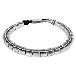 Bracelet with snake charms