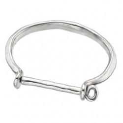 Silber Hufeisen Armband