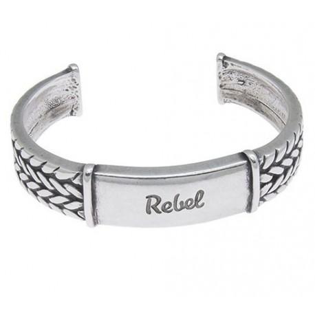 Rebel Silver Cuff